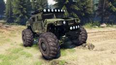 HMMWV M-1025 pour Spin Tires