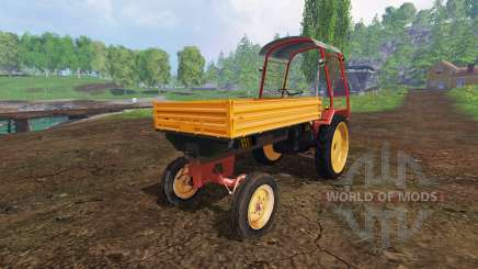 Fortschritt GT 124 with roof pour Farming Simulator 2015