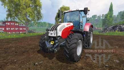 Steyr CVT 6130 EcoTech v2.0 pour Farming Simulator 2015