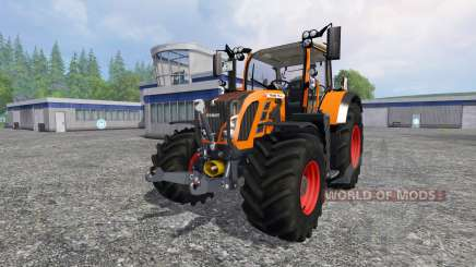 Fendt 718 Vario orange pour Farming Simulator 2015