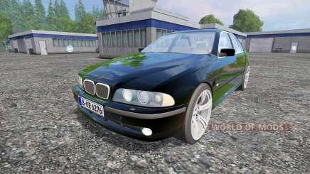 BMW 540i (E39) 2001 pour Farming Simulator 2015