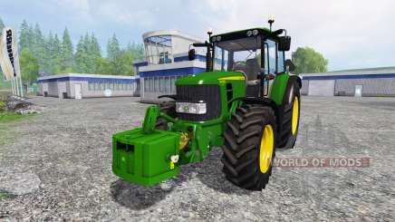 John Deere 6430 pour Farming Simulator 2015