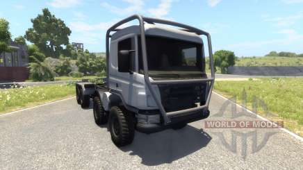 Scania 8x8 heavy utility truck pour BeamNG Drive