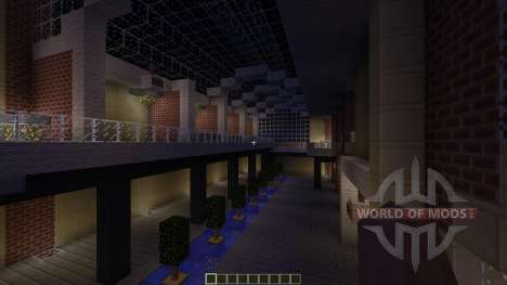 U-Plex Shopping Center Massive Modern Mall pour Minecraft