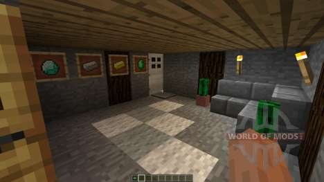 Small winter home für Minecraft