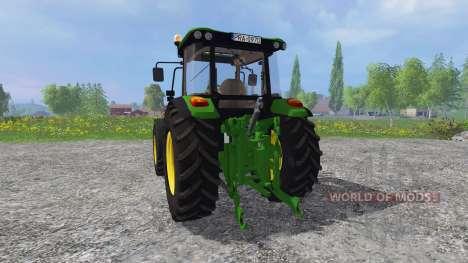 John Deere 5080M für Farming Simulator 2015
