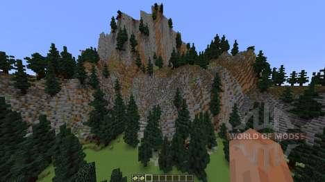 TerraCliff Extreme Terrain für Minecraft