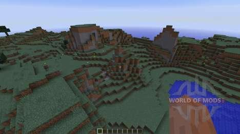 Redstone Underground Survival house pour Minecraft