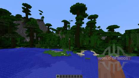 Paradise Island für Minecraft