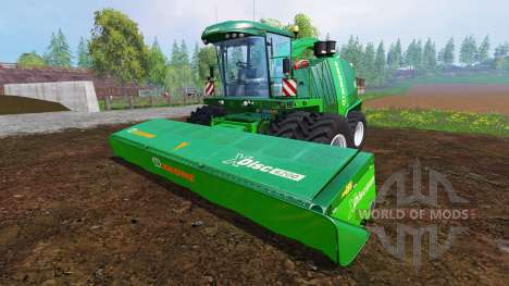 Krone Big X 1100 [twin fronts wheels] pour Farming Simulator 2015