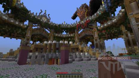 Spawn Hub structure pour Minecraft