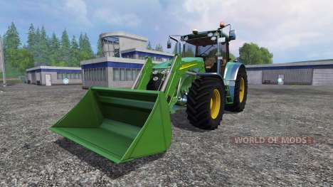 John Deere 7930 with front loader pour Farming Simulator 2015