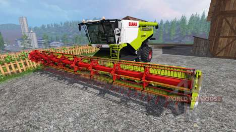 CLAAS Lexion 780 [full washable] pour Farming Simulator 2015