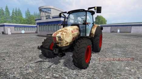 Hurlimann XM 4Ti camouflage pour Farming Simulator 2015