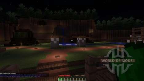 Kokiri Forest and Inside the Deku Tree für Minecraft