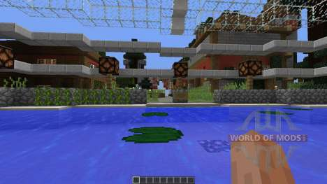 Futuristic Medieval Minecraft Survival Games pour Minecraft