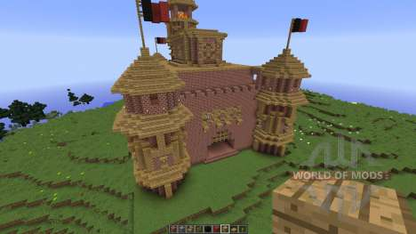 Awesome castle für Minecraft