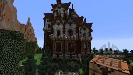 Slenders Mansions A Gothic Style Build für Minecraft