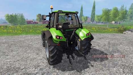Deutz-Fahr Agrotron 6140.4 v2.0 pour Farming Simulator 2015