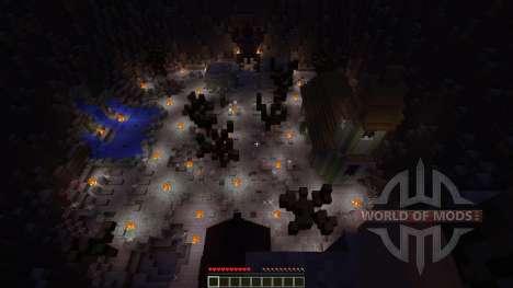 Pumpkin Wizard Boss Fight pour Minecraft