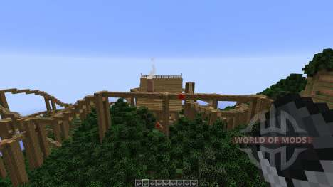 The Lost Island Adventure Coaster pour Minecraft