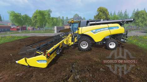 New Holland CR10.90 [front twin wheels] für Farming Simulator 2015