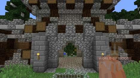 Viking Lake Town für Minecraft