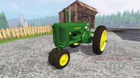 John Deere Model A [update] für Farming Simulator 2015