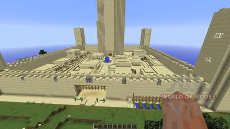 The City of Sand für Minecraft
