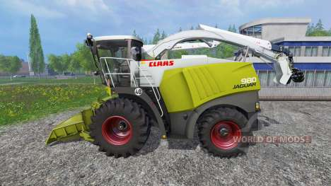 CLAAS Jaguar 980 [forest] für Farming Simulator 2015