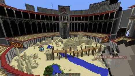 Massive PvP Arena für Minecraft