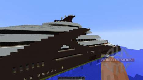 Independence Superyacht für Minecraft