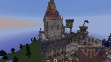 Medieval Castle pour Minecraft