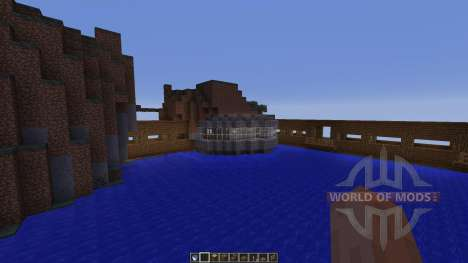 Dam Bridge Tunnel Experiments pour Minecraft