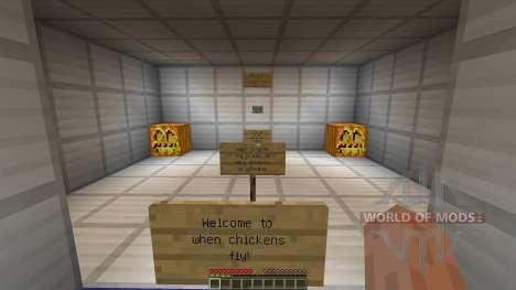 When chickens fly für Minecraft