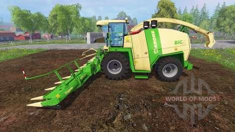 Krone Big X 1100 [mouse controlled] v2.0 pour Farming Simulator 2015
