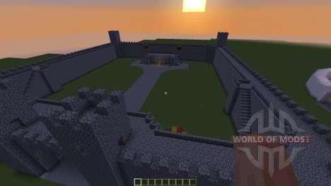 Server Spawn Pack Modular Infrastructure pour Minecraft