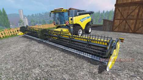 New Holland CR10.90 [front single wide wheels] pour Farming Simulator 2015