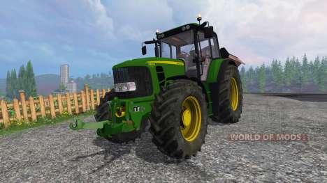 John Deere 6830 Premium FL v3.5 pour Farming Simulator 2015