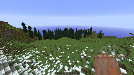 Alpine Valley für Minecraft