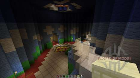 Mario 64 Full Map all 15 areas done pour Minecraft