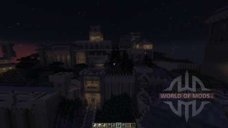 Cair Paravel Castle für Minecraft