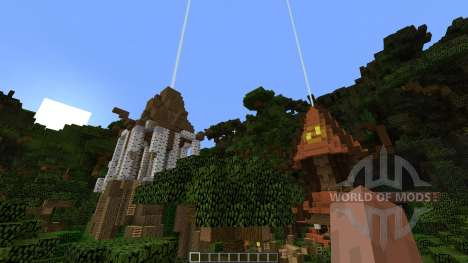 Among the Treetops für Minecraft