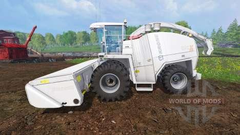 Krone Big X 1100 v1.4 für Farming Simulator 2015