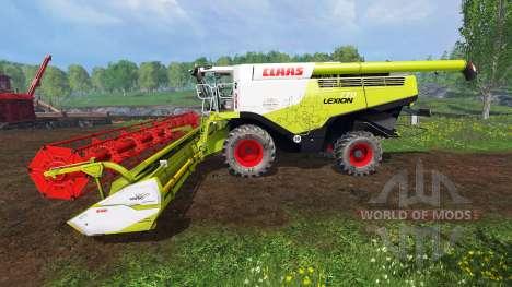 CLAAS Lexion 770 [washable] für Farming Simulator 2015