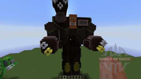 Ragnarok Mech pour Minecraft