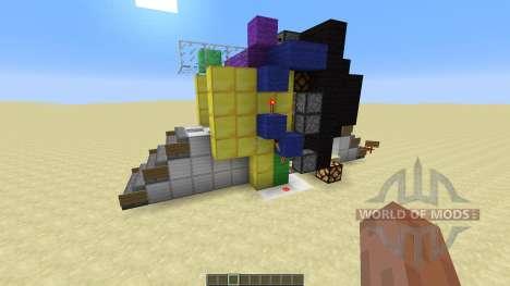 3 X 3 Piston door pour Minecraft
