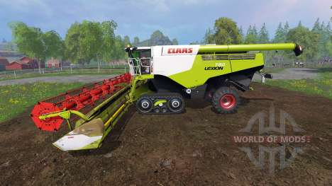 CLAAS Lexion 780TT [dirt] für Farming Simulator 2015