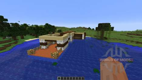 Fishing Dock pour Minecraft