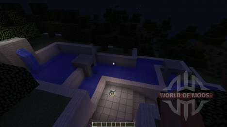 Futuristic Modern House: The Exige für Minecraft